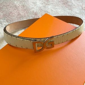 Dolce & Gabbana Snakeskin Belt